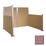 Hush Partition Panel 4x4 Wine