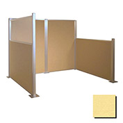 Hush Partition Panel 4x4 Yellow