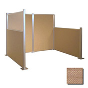 Hush Partition Panel 6x4 Beige