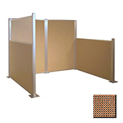 Hush Partition Panel 6x4 Latte