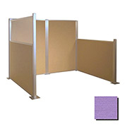 Hush Partition Panel 6x4 Purple