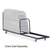 Virco® HCT8 Upright Mobile Chair Cart