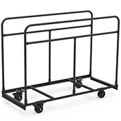 Virco® HRTT1 Upright Mobile Table Cart