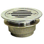 Wal-Rich® 0521002 Chrome-Plated Brass Urinal Strainer, IPS - Pkg Qty 3