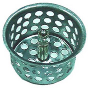 "Wal-Rich® 0528008 Ketchall Sink Strainer W/Post, 1-7/8"" Diameter - Pkg Qty 84"