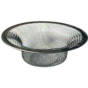 "Wal-Rich® 0529506 Stainless Steel Mesh Strainer, 2-1/2"" Diameter - Pkg Qty 54"