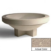 Wausau SL4031 Round Outdoor Planter - Weatherstone Buff 72x28-1/2