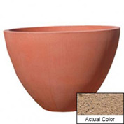 Wausau TF4122 Round Outdoor Planter - Weatherstone Sand 48x36