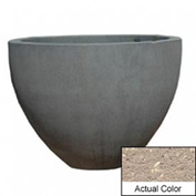 Wausau TF4132 Round Outdoor Planter - Weatherstone Buff 60x42