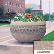 Wausau TF4226 Round Outdoor Planter - Weatherstone Buff 42x24