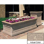 Wausau TF4238 Rectangular Outdoor Planter - Weatherstone Buff 72x36x24