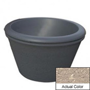 Wausau TF4306 Round Outdoor Planter - Weatherstone Buff 36x24