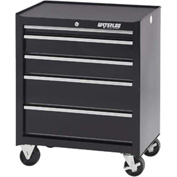 Waterloo SCA-265BK-B Ball Bearing 5-Drawer Cabinet - Black