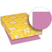 "Neenah Paper Astrobrights Colored Card Stock 21951, 8-1/2"" x 11"", Outrageous Orchid™, 250/Pack"