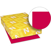 "Colored Paper - Neenah 22551 - Re-Entry Red - 8-1/2"" x 11"" - 24 lb. - 500 Sheets"