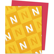 "Neenah Paper Astrobrights Card Stock Paper, 8-1/2"" x 11"", Re-Entry Red, 250 Sheets/Pack"