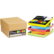 "Colored Paper - Neenah 22998 - Assorted - 8-1/2"" x 11"" - 24 lb. - 1250 Sheets"