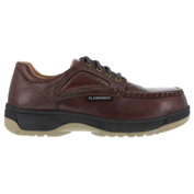 Florsheim® FS2400 Men's Eurocasual Moc Toe Oxford, Dark Brown, Size 9.5 D (Medium)