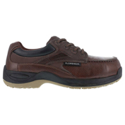 Florsheim® FS2700 Men's Casual Moc Toe Oxford, Brown, Size 10.5 EEE (X-Wide)