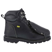"Iron Age® IA5016 Men's 6"" Met Guard Work Boot, Black, Size 10 W"