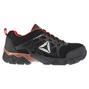 Reebok® RB1061 Men's Beamer Black and Red Athletic Oxford, Black/Red, Size 6 M