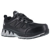 Reebok® RB3010-11.5-W ZigKick Athletic Work Shoe, Plain Toe, Men's, Size 11.5
