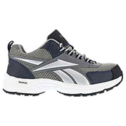 Reebok® RB4805 Men's Athletic Cross Trainer Shoes, Gray & Navy, Size 9 W