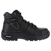 "Reebok® RB6765 Men's 6"" Waterproof Puncture Resistant Sport Boot, Black, Size 4 W"
