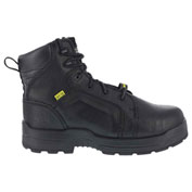 """Rockport® RK6465 Men's More Energy 6"""" Lace To Toe Internal Met Guard Boot, Black, Size 7 W"""
