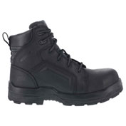 """Rockport® RK6635 Men's More Energy 6"""" Lace to Toe Waterproof Work Boot, Black, Size 7 W"""