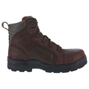 """Rockport® RK6640 Men's More Energy 6"""" Lace to Toe Waterproof Work Boot, Brown, Size 4 M"""