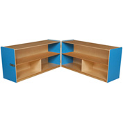 "Blueberry Folding Versatile Storage Unit, 24""H"