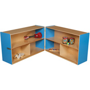 "Blueberry Folding Versatile Storage Unit, 30""H"