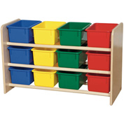 See-All Storage with Twelve Assorted Trays
