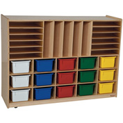 Multi-Storage with Fifteen Assorted Trays