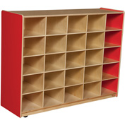 Strawberry Red 25 Tray Storage without Trays