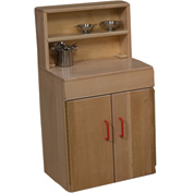 Wood Designs™ Maple Deluxe Hutch