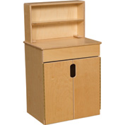 Wood Designs™ Tip-Me-Not Deluxe Hutch