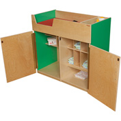Wood Designs™ Green Apple Deluxe Infant Care Center