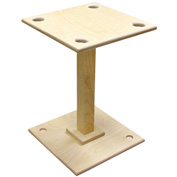 Wood Designs™ Housekeeping Station - Stand Only