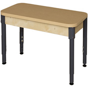 "Wood Designs 24"" X 36"" Rectangle High Pressure Laminate Activity Table with Adjustable Legs 18""- 29"""