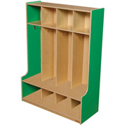Green Apple Four Section Seat Locker