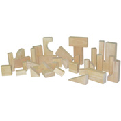 Wood Designs™ Toddler Blocks - 12 Shapes, 36 Pieces