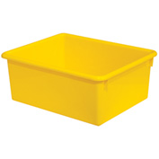 "Wood Designs WD78007 Rectangular Tote Tray, Yellow, 10-1/2""W x 13-1/8""D x 5""H"