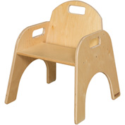 "Wood Designs™ Woodie, 11"" Seat Height, Packed One Per Carton"