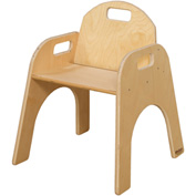 "Wood Designs™ Woodie, 13"" Seat Height, Packed One Per Carton"