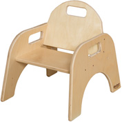 "Wood Designs™ Woodie, 7"" Seat Height, Packed One Per Carton"