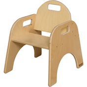 "Wood Designs™ Woodie, 9"" Seat Height, Packed One Per Carton"