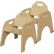 """Wood Designs™ Woodie, 9"""" Seat Height, Carton of Two"""