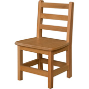 "Wood Designs™ 12"" Seat Height Hardwood Chair, Packed One Per Carton"